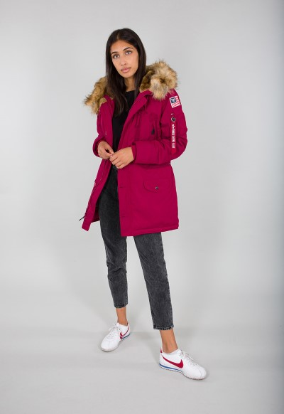 123002 454 alpha industries polar jacket wmn women jacket 004 Custom