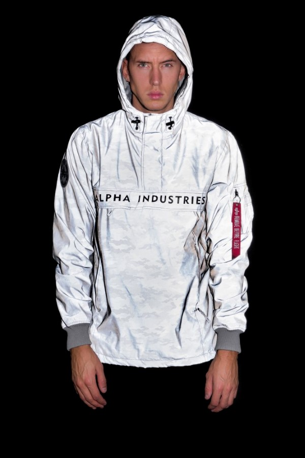 nasa reflective anorak