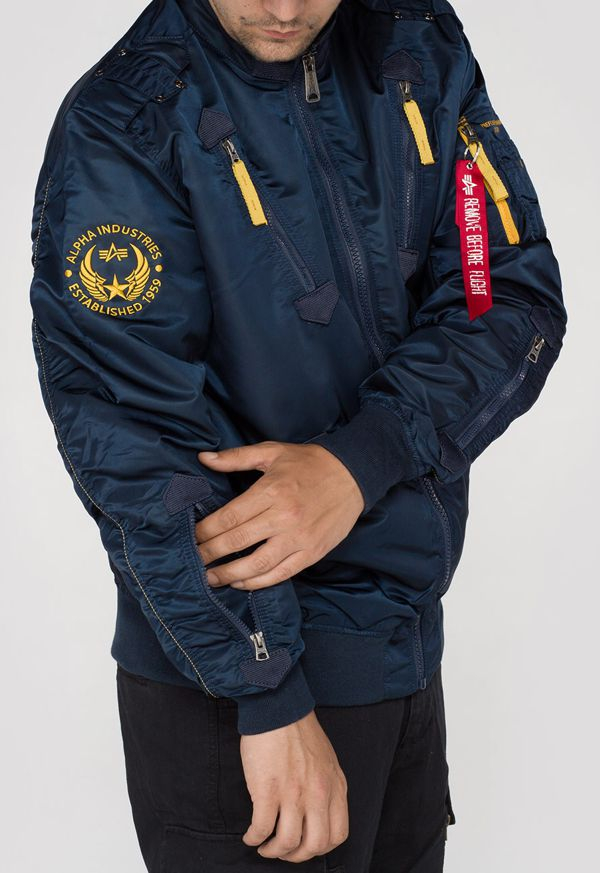 156109 07 alpha industries falcon II bomber dzseki