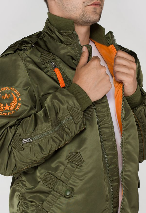 156109 257 alpha industries falcon II bomber dzseki