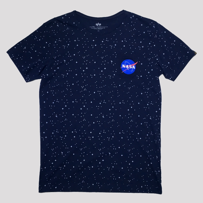 starry t blue
