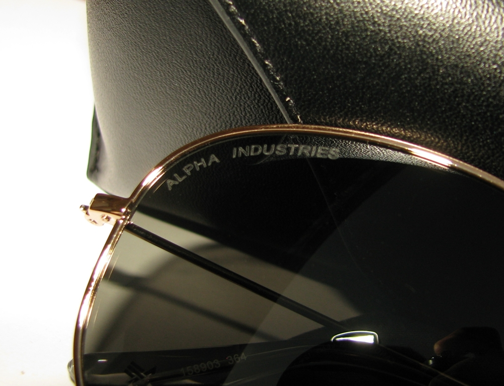 Alpha sunglasses 1