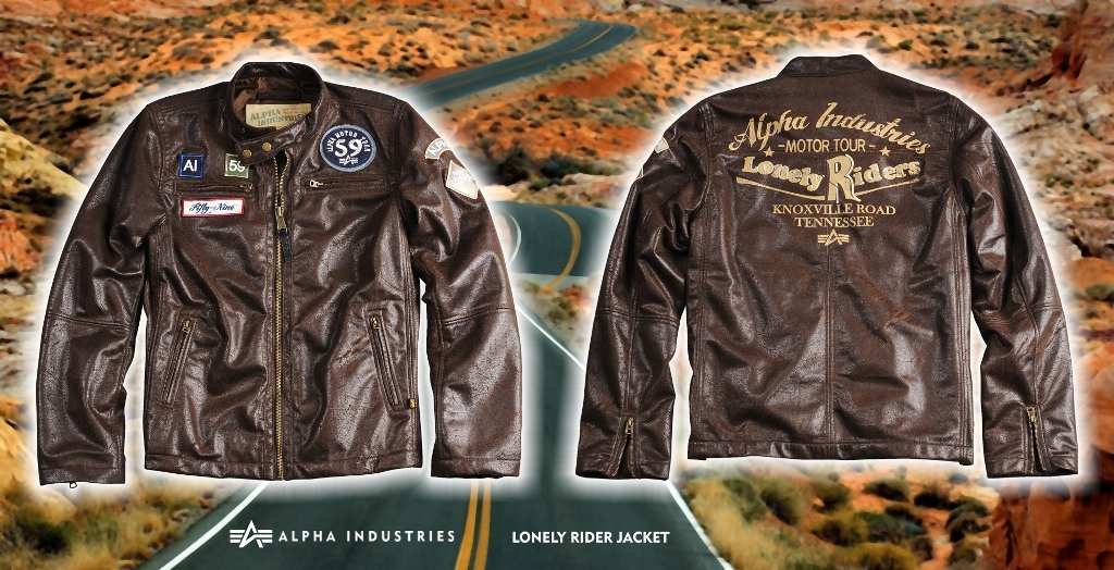 lonely rider  jacket2